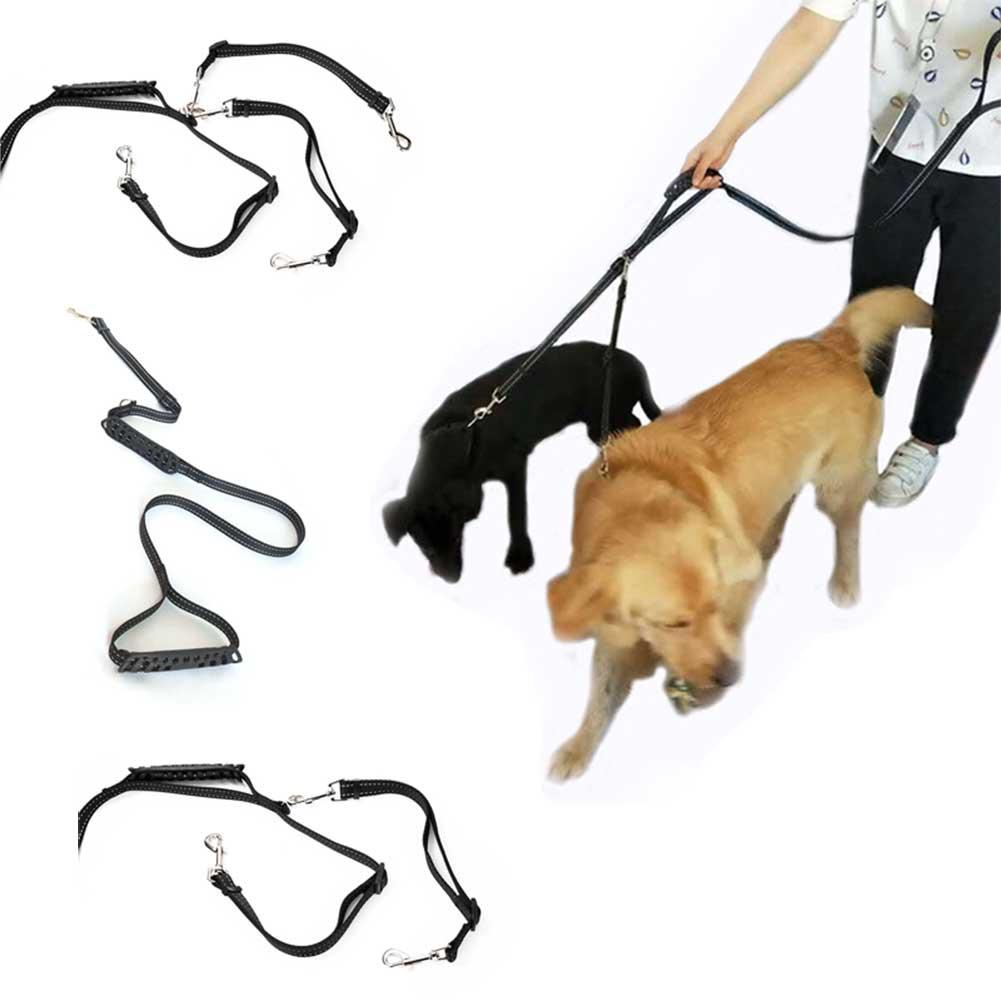 Nylon Adjustable Cat Dog Harness Collar Lead Strap Belt Reflective Pet Leash Walking Traction Pets Supplies Hot Sale