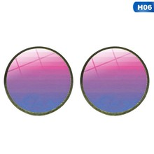 Earring Bi Pride Stud Earring Jewelry Hypoallwergenic Ear Nail Pride Glass Cabochon Earrings Luxury(China)