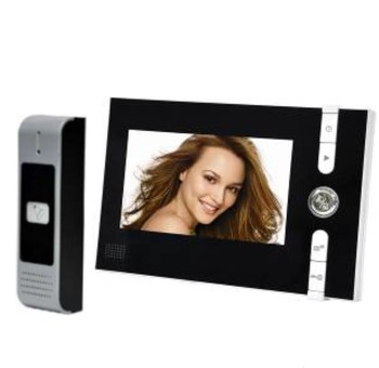 "7 "" TFT Monitor Two Way Intercom Wired Video Door Phone"