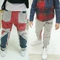 New Baby Casual Sports Harem Grey Pants Kids Boy Cotton Long Pants Trousers 1-6Y