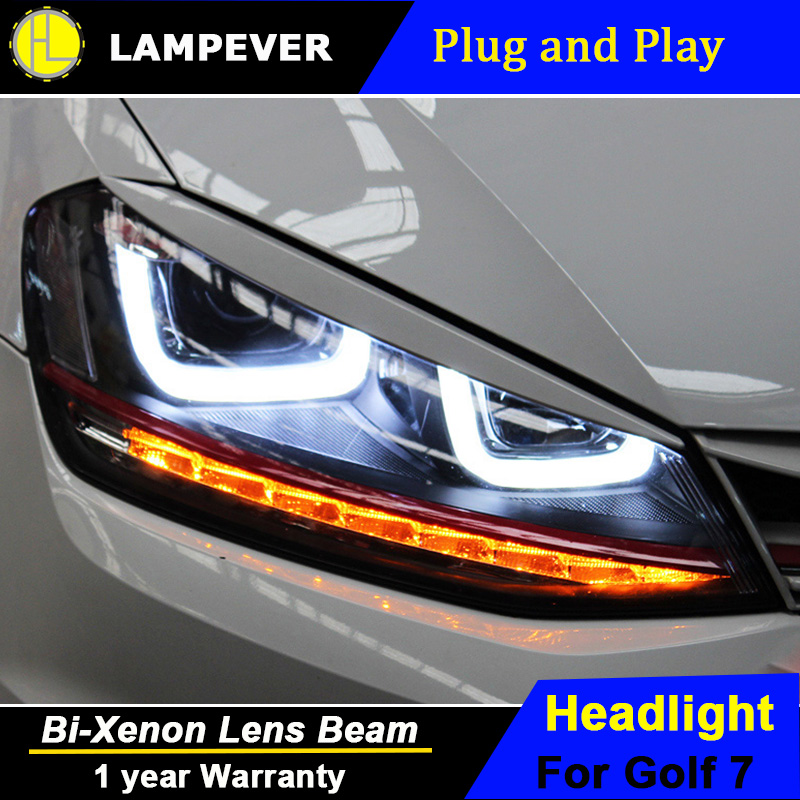 2021 Vw Golf R Rendering Is All About The Headlights: Lampever Styling For VW Golf7 Headlights 2013 2015 Golf7