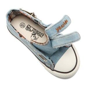 Image 5 - Bambini Scarpe di tela 2020 Vendita Calda Primavera di Sport Traspirante Ragazzi Scarpe Da Ginnastica di Marca Scarpe Per Bambini per le Ragazze Dei Jeans Denim Appartamenti per Studenti