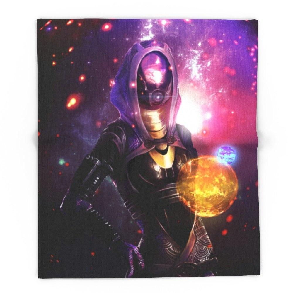TaliZorah Vas Normandy (Mass Effect) Art 68 x 80 Blanket Throw on Sofa Bed Plane Plaids Solid Bedspreads Home TextileTaliZorah Vas Normandy (Mass Effect) Art 68 x 80 Blanket Throw on Sofa Bed Plane Plaids Solid Bedspreads Home Textile
