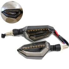 Motorrad schwarz LED licht signale blinker Für Ktm 990 SMR/SMT690 Duke R 790 DUKE 690 SMC 125 DUKE 200 DUKE RC200 RC390
