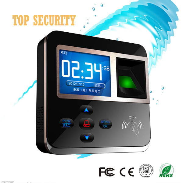 Good quality high speed TCP/IP color screen fingerprint and RFID time attendance and access control realand F211 outdoor use waterproof tcp ip color screen fingerprint and 125khz rfid smart card time attendance and access control system