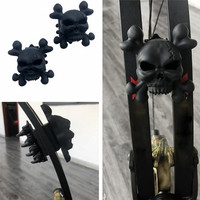 New High Quality Durable 1 Pair Archery Stabilizer Damping Supply Rubber Compound Bow Skull Limb Damper Archery Equipment#293287