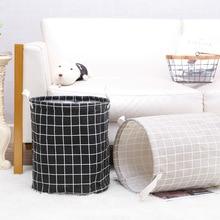 цены Large Collapsible Laundry Basket Clothes Storage Bag Hamper Storage Sorting Bag Pocket Bag Storage Bag Children's Toy Storage