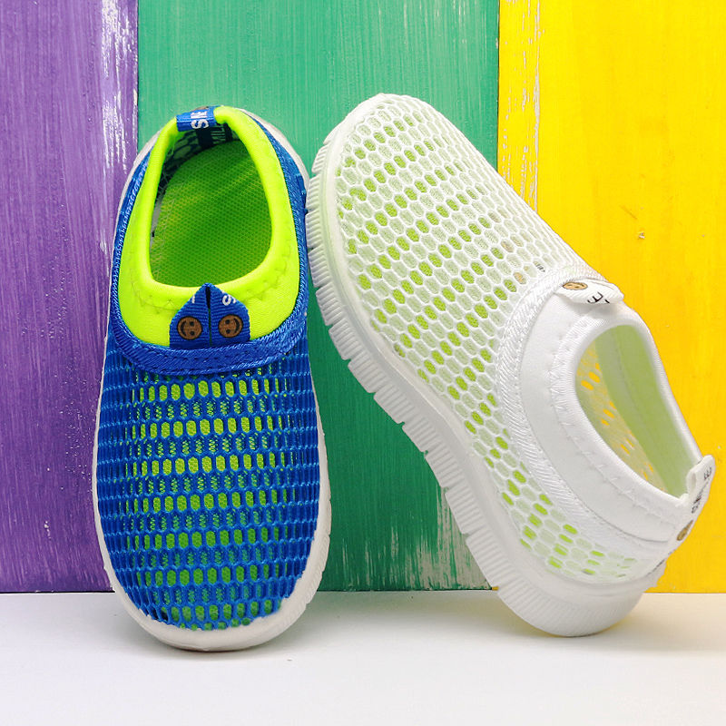 2019 New Children Shoes Boys Sneakers Summer Girls Mesh Toddler Casual Shoes For Kids Sport Breathable Loafer Fashion Baby Shoes