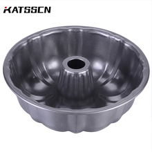 9 inch Metal Cake Pan Mold For Halloween Non-stick Multifunction Round Fluted Tube Tin Floral Molds Bakeware