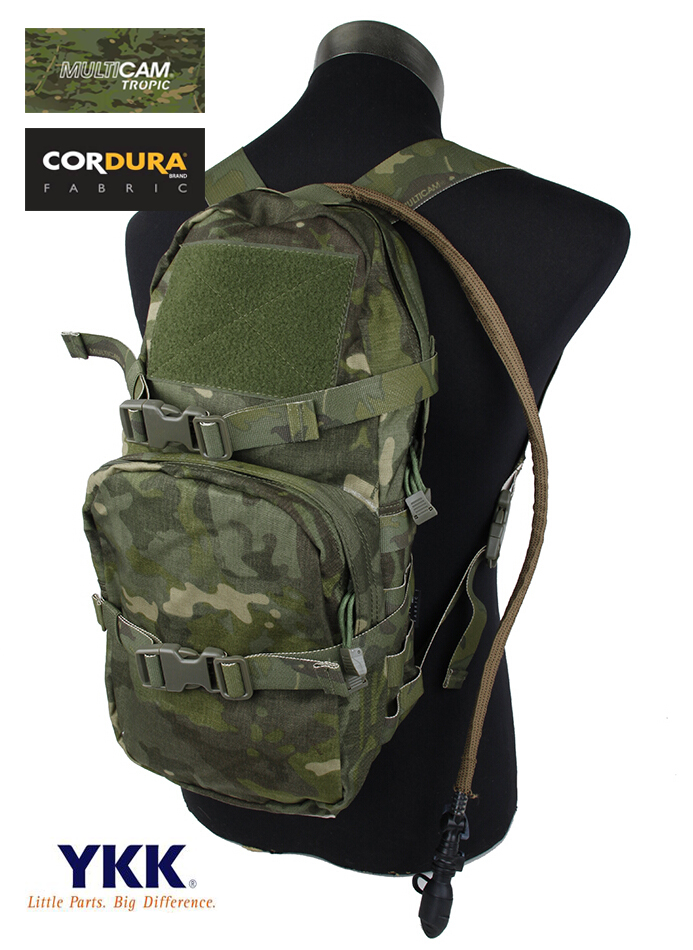 Modular Assault Camouflage MOLLE Hydration Pack Military Hydration Bag 3L Multicam Tropic(XTC050776) camouflage hydration pack multi functional camouflage tactics backpack military hydration packs molle backpack s56