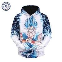 Unisex Hot Anime Coat Men Super Saiya Vegeta Printed 3D Hoodie Dragon Ball Sweatshirts Cartoon Outwear for Students Teen Clothes