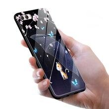 Tempered Glass Case for Huawei Nova 2S Nova2S Full Cover + Screen Protection Film