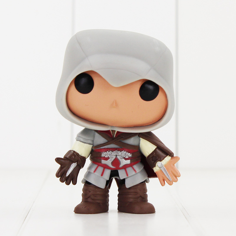 10CM EZIO #21 EZIO Action Figure Model Toy Hot GAMES ASSASSINS creed GREED MODEL good collection gift for kid decoration toy new hot christmas gift 21inch 52cm bearbrick be rbrick fashion toy pvc action figure collectible model toy decoration