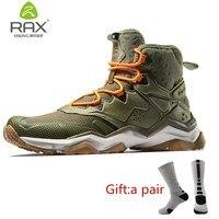 RAX Men's Lightweight Cushioning Antislip Hiking Shoes Climbing Trekking Mountaineering Shoe For Men Outdoor With gift