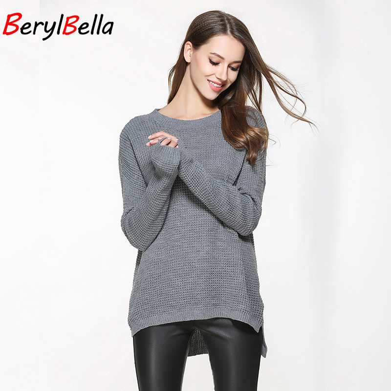 Jersey Mujer Suéter Camisa Invierno Primavera Suéter Oversized - Ropa de mujer - foto 6