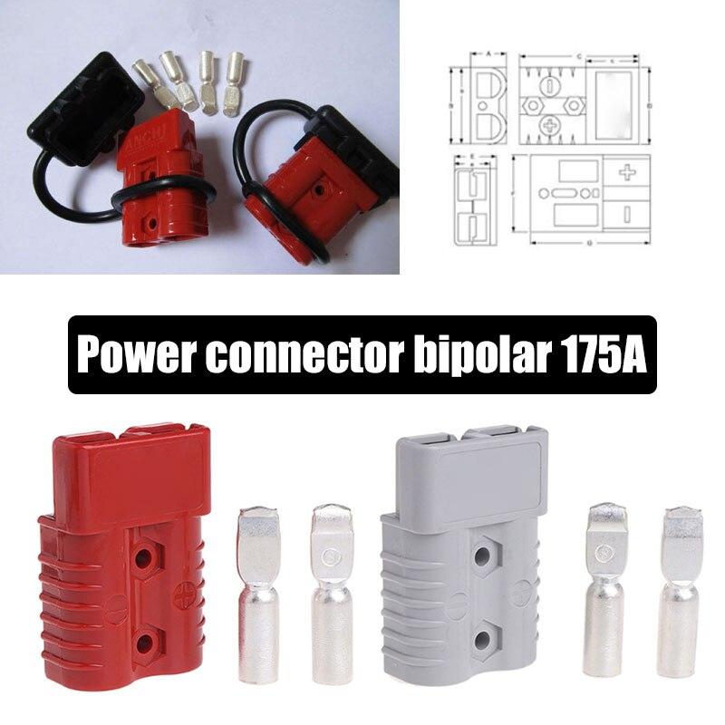 Vehemo 175A 600 в 2 наборы для ухода за кожей мощность Plug штепсельный соединитель механическое оборудование Сменные горного оборудования электрическое оборудование