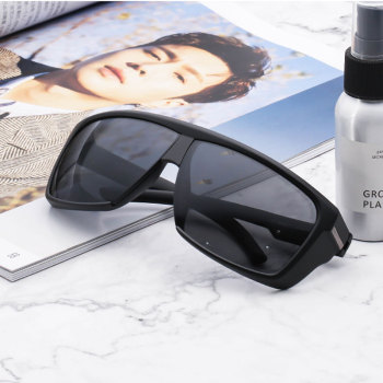 HUHAITANG Luxury Oversized Brand Sunglasses Mens Designer Vintage Women Driving Sun Glasses Men Sport Outdoor Sunglases Ladies 1
