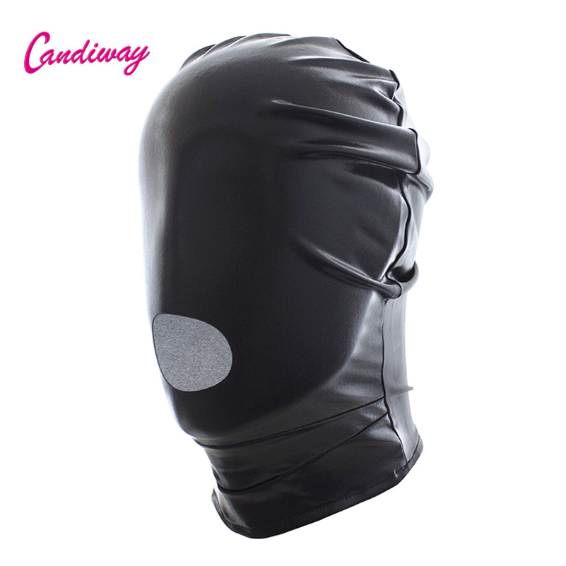 Sexy Toys Fetish Open Mouth Hood Mask Head Bondage Restraints BDSM Adult Games Sex Products For Man,adult Sex Toys For Woman