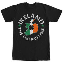 Hot Sale Men T Shirt Fashion Lost Gods Ireland Emerald Isle Mens Graphic T Shirt Summer O-Neck Tops(China)