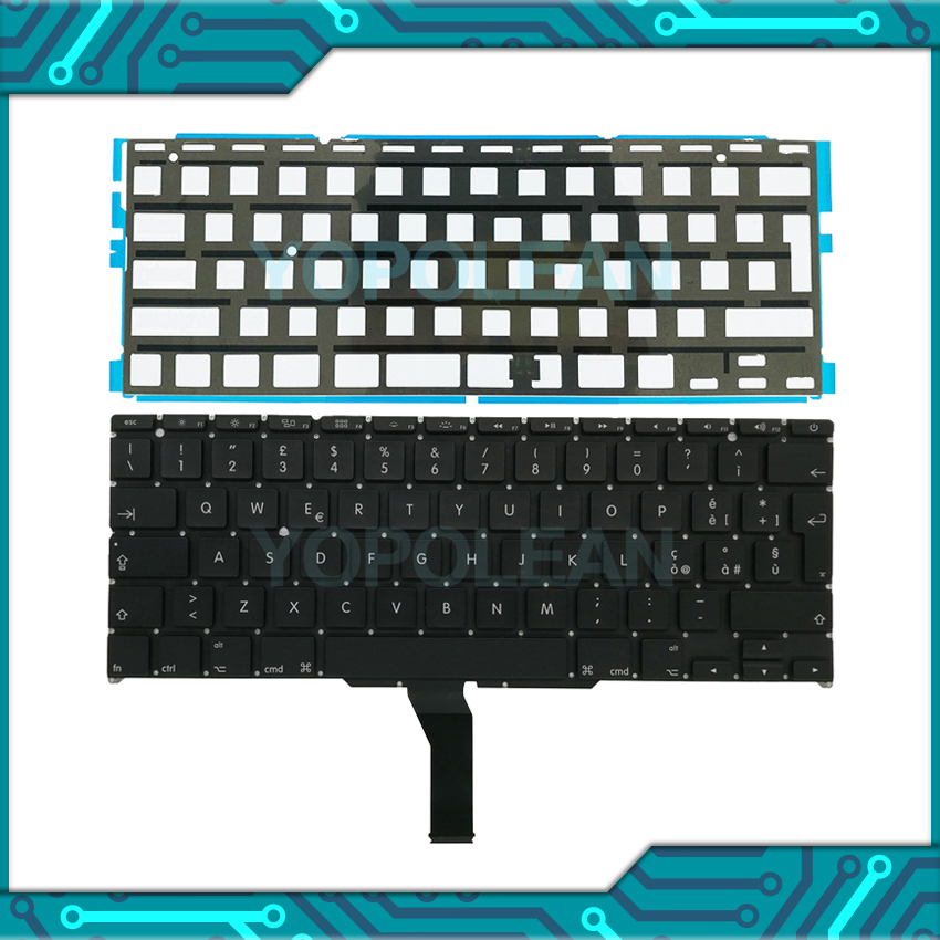 "5 Pcs New Italy Italian Keyboard With Backlight For Macbook Air 11"" A1465 A1370 2011-2015 Years(China)"