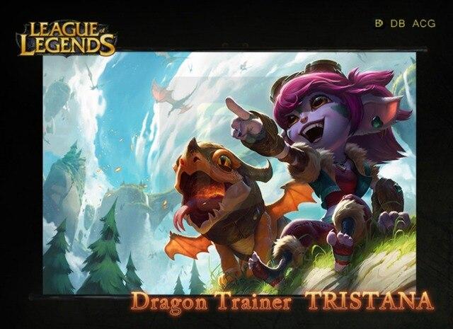 League Of Legends Tristana Przewija Gier Hd Plakat Bar Kawiarnie