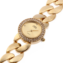 XG52 New Fashion G&D Women Watch Wrist Watch Stainless Gold Single Chain Bracelet Watch  Quartz Analog Wrist Watches Today's Day