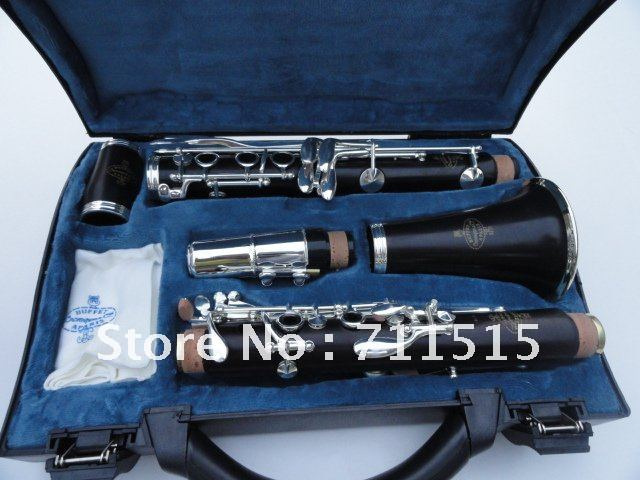 Crampon &Cie APARIS Clarinet 1986 E13 Sandalwood Ebony Tube B Flat Clarinet Music Instruments With 16 Closed Holes+10 Reeds+Case