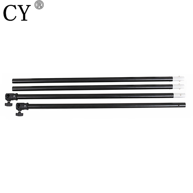 CY Photography Background Backdrops 3M Crossbar Photo Studio Black Aluminum Backgrounds Cross Bar Fondos De Estudio Fotografia