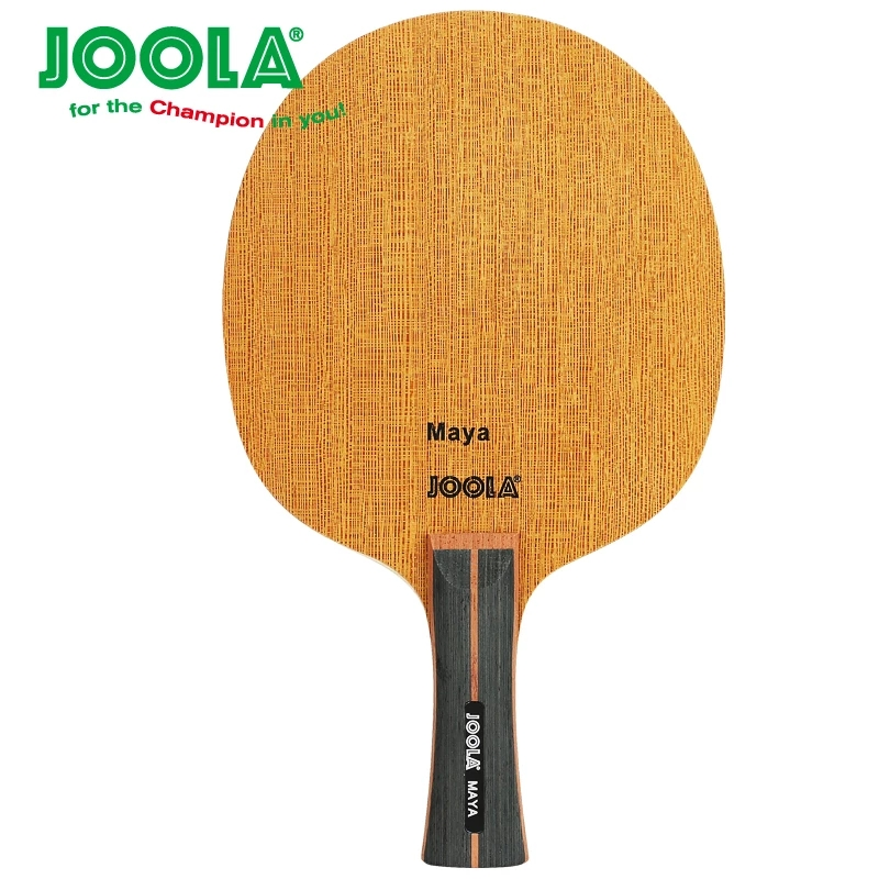 Joola MAYA (2018 New, 5 Ply Wood, Loop Offensive) Table Tennis Blade Racket Ping Pong Bat Paddle joola rossi viva rosskopf 7 ply top offensive blade table tennis blade racket ping pong bat