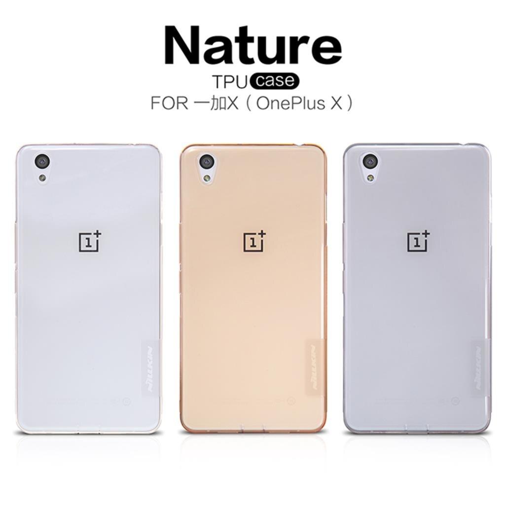 Original NILLKIN Ultra Thin Slim TPU Case For OnePlus X/one plus X/ONE E1001 (5.0inch) Hight Quality Soft TPU Back Phone Cover