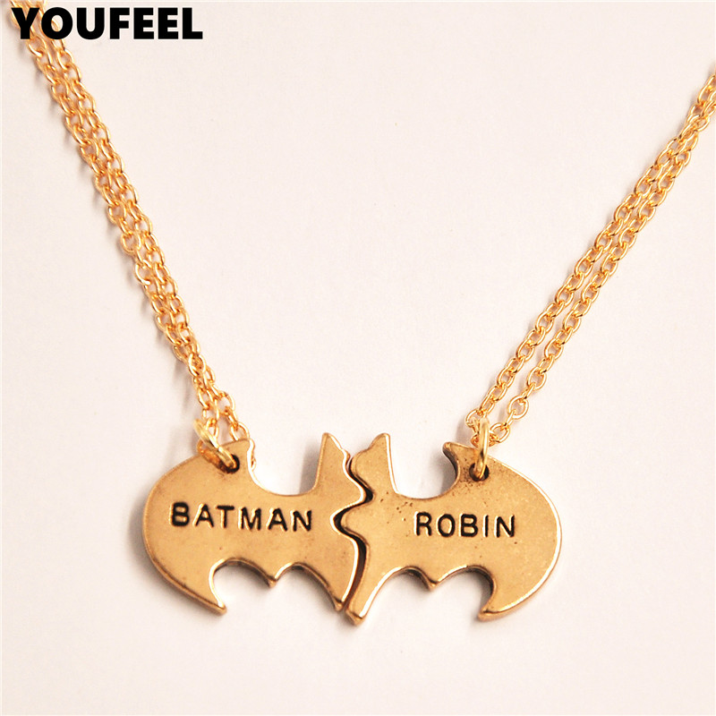Fashion jewelry engraved necklaces guitar pick pendants batman fashion jewelry engraved necklaces guitar pick pendants batman necklace charm sweater chain necklace for boy girl gift in pendant necklaces from jewelry aloadofball Image collections