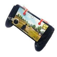 Para pubg controlador do telefone para fps moba controlador de jogo com joystick e l1 r1 chaves compatível com o telefone móvel universal
