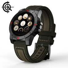 CQB Outdoor Sport Smartwatch Männer multifunktions Pulsmesser Kompass Wasserdichte Uhr Für Android C3203
