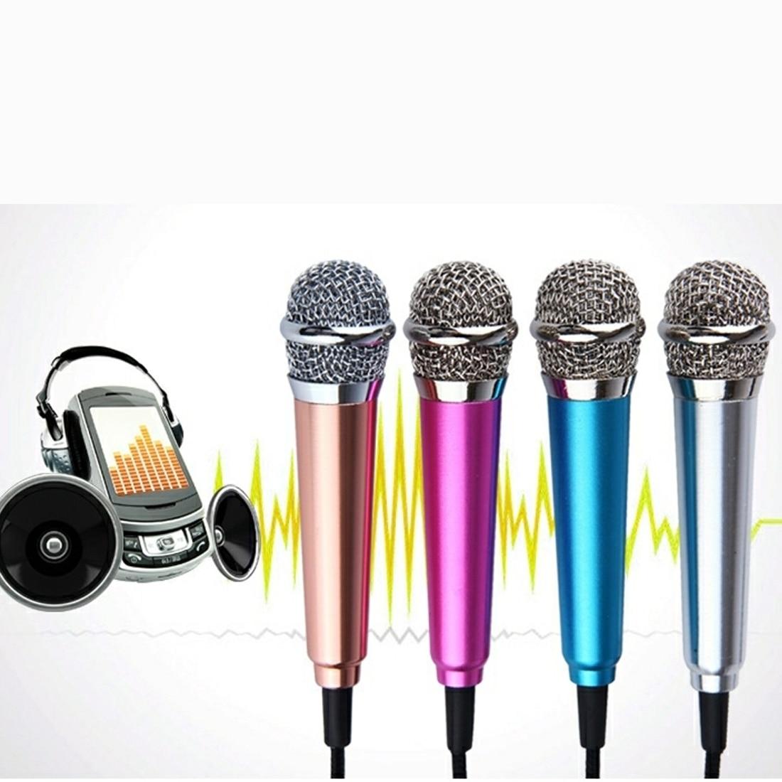 Портативная мини-Речевая стереосистема Marsnaska 3,5 мм, аудиомикрофон для телефона/смартфона, аксессуары для рабочего стола