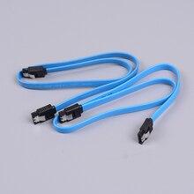 2 sztuk HDD SSD SATA 3.0 III 6 Gb/s prosty kabel kątowy napęd dysku twardego danych kabel SATA 3 kabel płaski przewód danych dla HDD SSD