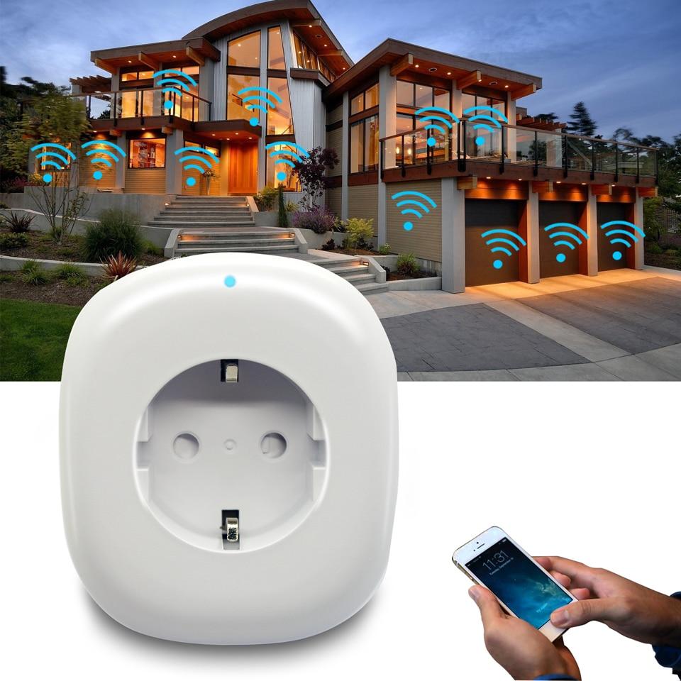 Image 5 - Russian Eu Wifi Plug Adapter Tuya Smart Socket With USB Charging Port Smart Google Home Wireless Remote Control Electric Plug
