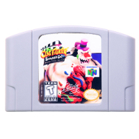 N64Game Clay Fighter-Sculptor's Cut Video Game Cartridge Console Card English Language US Version