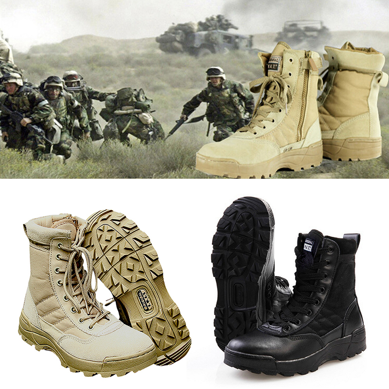 Free shipping winter fishing Sport Army Mens Tactical Boots Desert Outdoor Hiking Military Enthusiasts Marine Male Combat ShoesFree shipping winter fishing Sport Army Mens Tactical Boots Desert Outdoor Hiking Military Enthusiasts Marine Male Combat Shoes