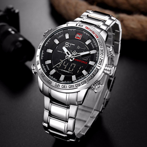 Image 2 - Relogio Masculino NAVIFORCE Mens Quartz Analog Watch Luxury Fashion Sport Wristwatch Waterproof Stainless Male Watches Clock