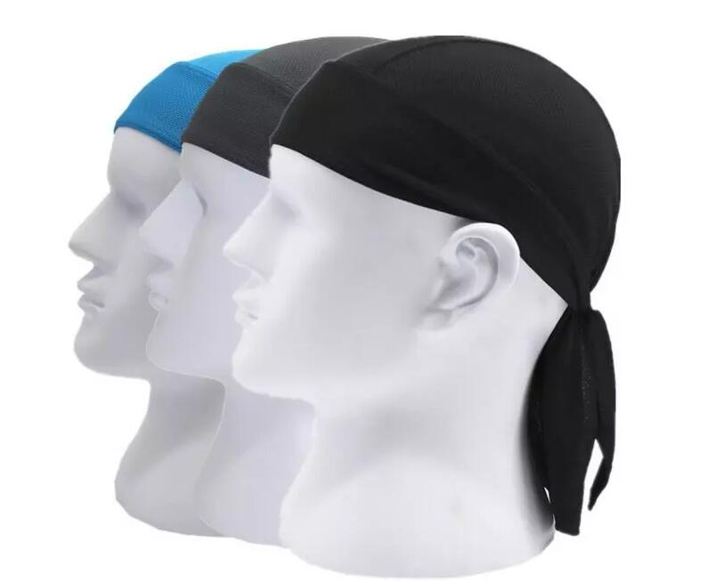 Men Women Cycling Pirate Cap Outdoor Sport Bandanas Pure Color Motor Cycle Head Scarf Ciclismo Balaclava Bicycle Bike Headwear