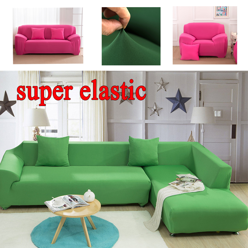 Sofa Cover Sectional Couch Covers L Shaped Sofa Slipcover Furniture  Protector Funda Fabric Cotton Corner Sofa