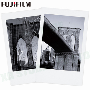 Image 4 - Fujifilm Instax Mini 11 8 9 Film MONO krom Fuji anında fotoğraf kağıdı 10 adet için 70 7s 50s 50i 90 25 payı SP 1 2 kamera