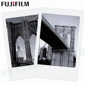 Image 4 - Fujifilm instax mini 11 8 9 filme mono chrome fuji instantânea foto papel 10 folhas para 70 7s 50s 50i 90 25 share SP 1 2 câmera