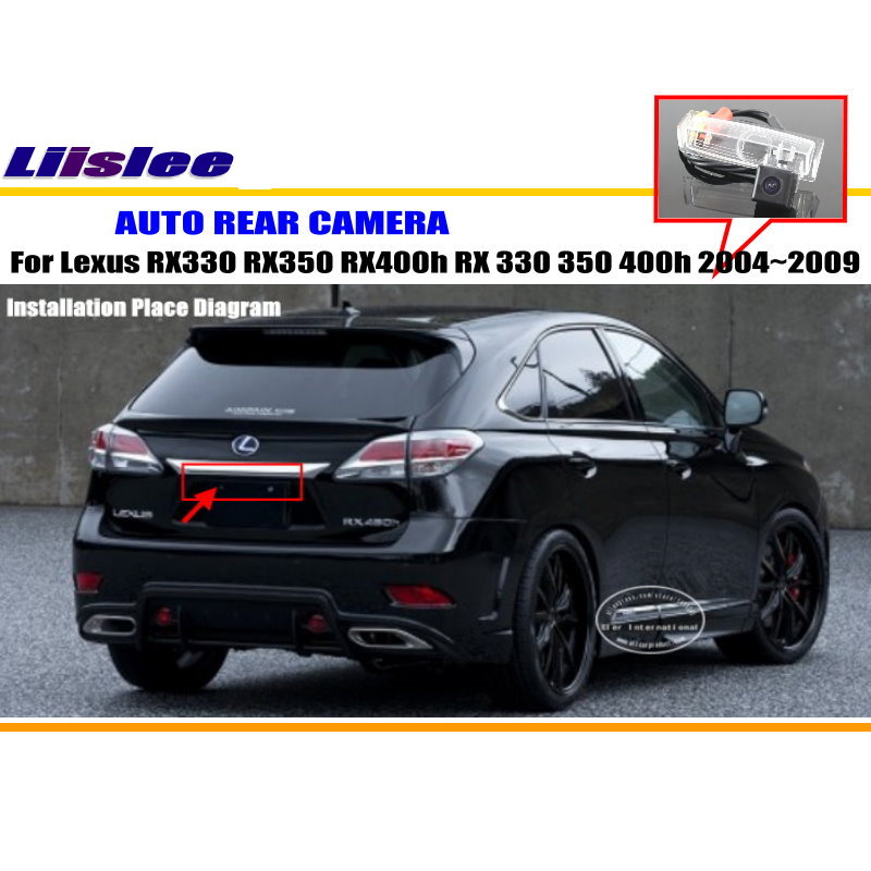 Автомобильная камера для Lexus RX330 RX350 RX400h RX 330 350 400h 2004~ 2009/камера заднего вида NTST PAL светильник номерного знака OEM