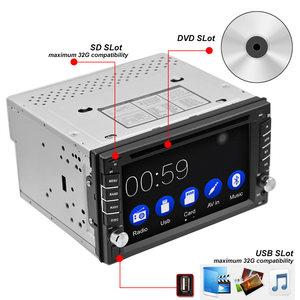 Image 2 - 2DIN Car DVD Player Radio GPS Bluetooth Carplay Android Auto for X TRAIL Qashqai x trail juke for nissan SWC FM AM USB/SD