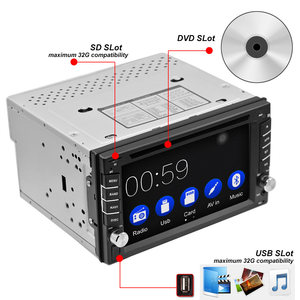 Image 2 - Автомобильный DVD плеер, 2DIN, радио, GPS, Bluetooth, Carplay, Android, для nissan SWC, FM, AM, USB/SD, Qashqai x trail juke
