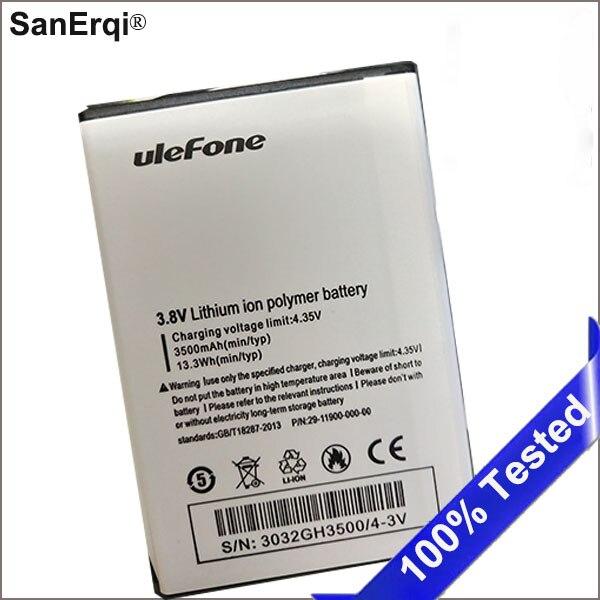 Para uleFone U008 Pro batería 4G Smartphone 5,0 pulgadas Smartphone MTK6737 reemplazo baterías