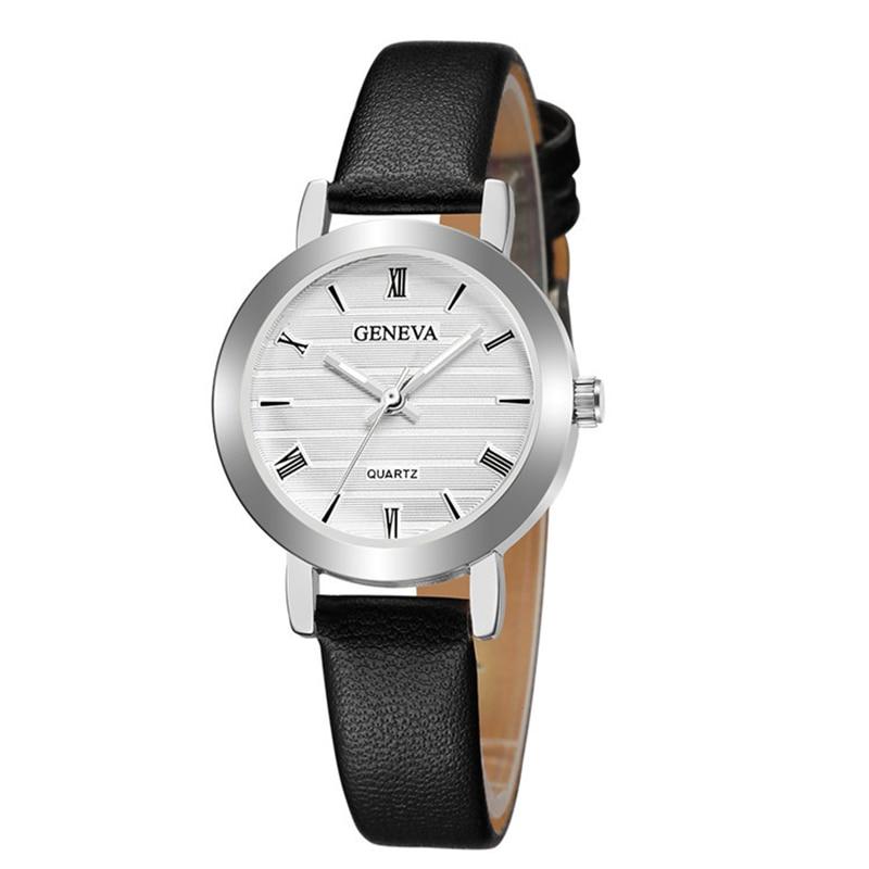 Vintage Watches Women Fashion Watch 2019 New Elegant Dress Leather Strap Ultra Slim Wrist Watch Montre Femme Reloj Mujer Xfcs