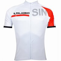 ILPALADINO Men's Bicycle Cycling National BMX DH Down Hill Team Clothing Competition Clothing Basketball White Short Sleeve