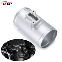 R EP Air Flow Sensor Mount Fit For Nissan Honda Fit Civic For Volkswage MAF Performance Air Intake Meter Adapter 2.5 3inch